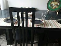 5 chairs in 50 dollars table free  Haymarket, 20169