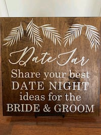 Wedding Decor - Date Night sign Herndon, 20170