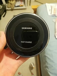 black Samsung wireless charging pad Englewood, 80110