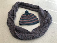 Handmade crochet infinity scarf and hat set Newmarket, L3Y 7K2