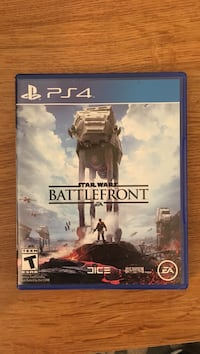 Battlefront PS4 Star Wars like new