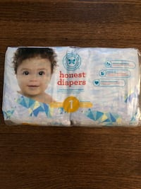 Honest Diapers unopened Westchester, 60154