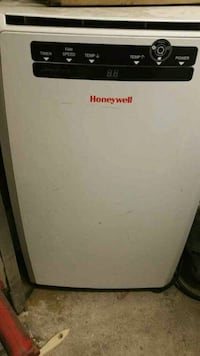 white Honeywell portable AC unit New York