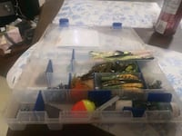 Two tackle box of lured