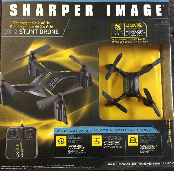 Used Sharper Image Dx 2 Stunt Drone For Sale In Montreal East Letgo