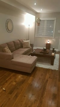 Lovely like new sectional couch