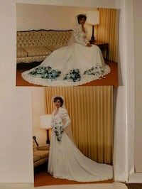 Wedding Dress approx sz 6 & Hat w/Veil Oshawa, L1G 7M4