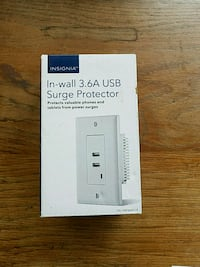 Insignia In wall 3.6A USB Surge Protector  Little Rock, 72202