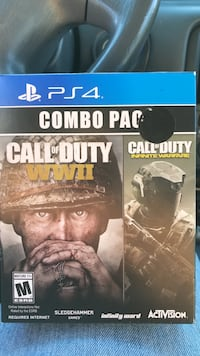 Call of Duty WWII & infinite Warfare PS4 game Santa Fe Springs, 90670