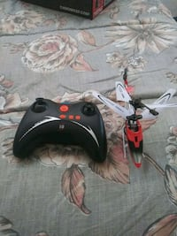 black and red quadcopter with remote Fairfield, 94533