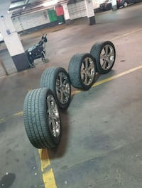 Nice rims end tires  20 inch 5x120 Toronto, M3C