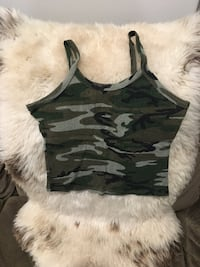 Camouflage belly tank in Ladies size Small New York, 11234