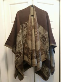 Warm and wooly Poncho