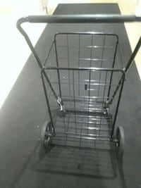 black metal folding shopping cart Arlington, 22202
