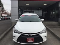 2017 Toyota Camry SE Fuel Efficient Keyless Entry Bluetooth Backup Vancouver, 98662
