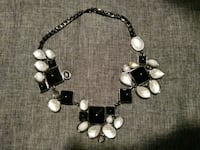 silver and white pearl beaded necklace East Los Angeles
