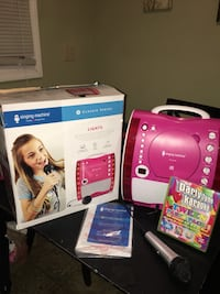 Kid's Karaoke Machine and 4 kids Sind along CD's Louisville, 40242
