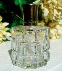 Vintage  Pressed Glass Refillable Perfume Bottle Bethesda, MD, USA