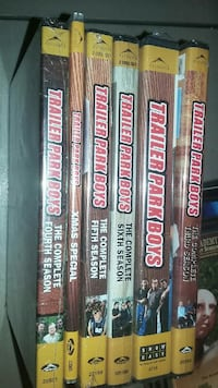 Trailer park boys movie dvd set of 7 in pkg xmas