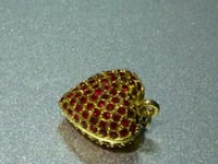 Ruby Pendant, missing 3 rubies, see pics. Keizer, 97303