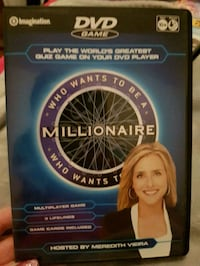 Who Wants To Be A Millionaire DVD Game  Surrey, V3T 4A5