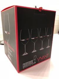 Riedel Vivant Red Wine set of 4. Never used. Austin, 78704