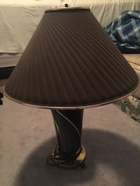 Table lamp pick up only