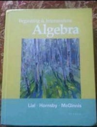 CSN USED BOOKS. ALGEBRA, WHAT'S THAT SOUND AND PRE