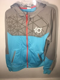 Kevin Durant Nike Therma-Fit ZIP-Up Hoodie Oklahoma City Thunder Fairfax, 22031