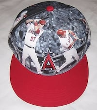 LA angels baseball MIKE TROUT hat / cap - NEW Tustin, 92782