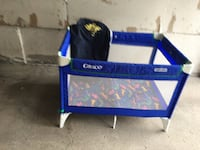 blue and white Graco pack n play Vaughan, L4L 7S6