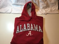 Alabama Crimson Tide Large Comfy Cotton Hoodie Little Rock