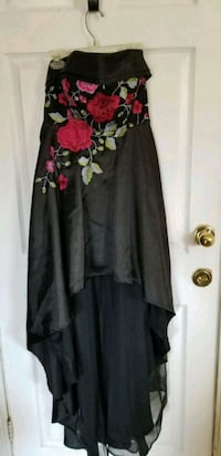 women's black and red floral dress Lakewood Township, 08701