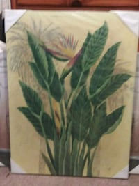 green and brown leaf plant painting Los Angeles, 90002