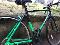 Green and black road bike Austin, 78704