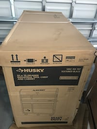 """New in the box husky 52"""" industrial toolbox lots of tools. wrench and sockets all sizes Pembroke Pines, 33025"""