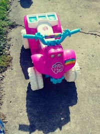 toddler's pink and blue My Little Pony ATV ride-on toy Middletown, 45042