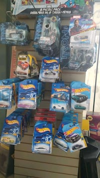 Hot wheels cars assorted for each one