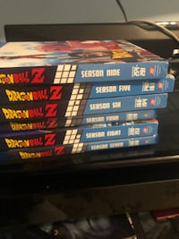 Dragon ball z seasons