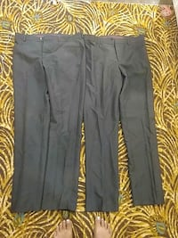 2 pairs of mens size 32 dress pants from international clothers men.  Toronto, M6C 3A5