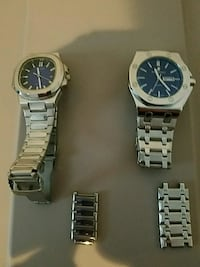 2 stainless steel watches for sale Crewe, 23930