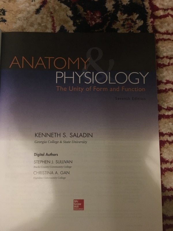 Used Anatomy and physiology textbook for sale in New York - letgo