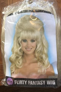 Wig- 60's, Beehive, Dolly Parton, Femmebot, Austin Powers, Halloween Toronto, M4J 1R2