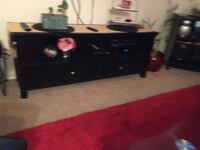 Back wooden sideboard New York, 10314