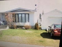4 bdrm bungalow on a huge lot and garage Willingdon, T0B 4R0