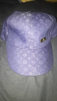 purple and white fitted cap Dayton, 77535