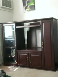 Cherry wood entertainment stand Riverview