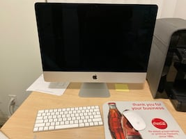 "21.5"" Apple Imac led desktop"