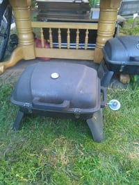 black and gray gas grill Surrey, V3S 2N5