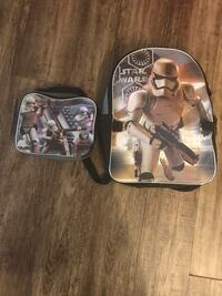 Star Wars backpack and lunch box set Charlotte, 28273